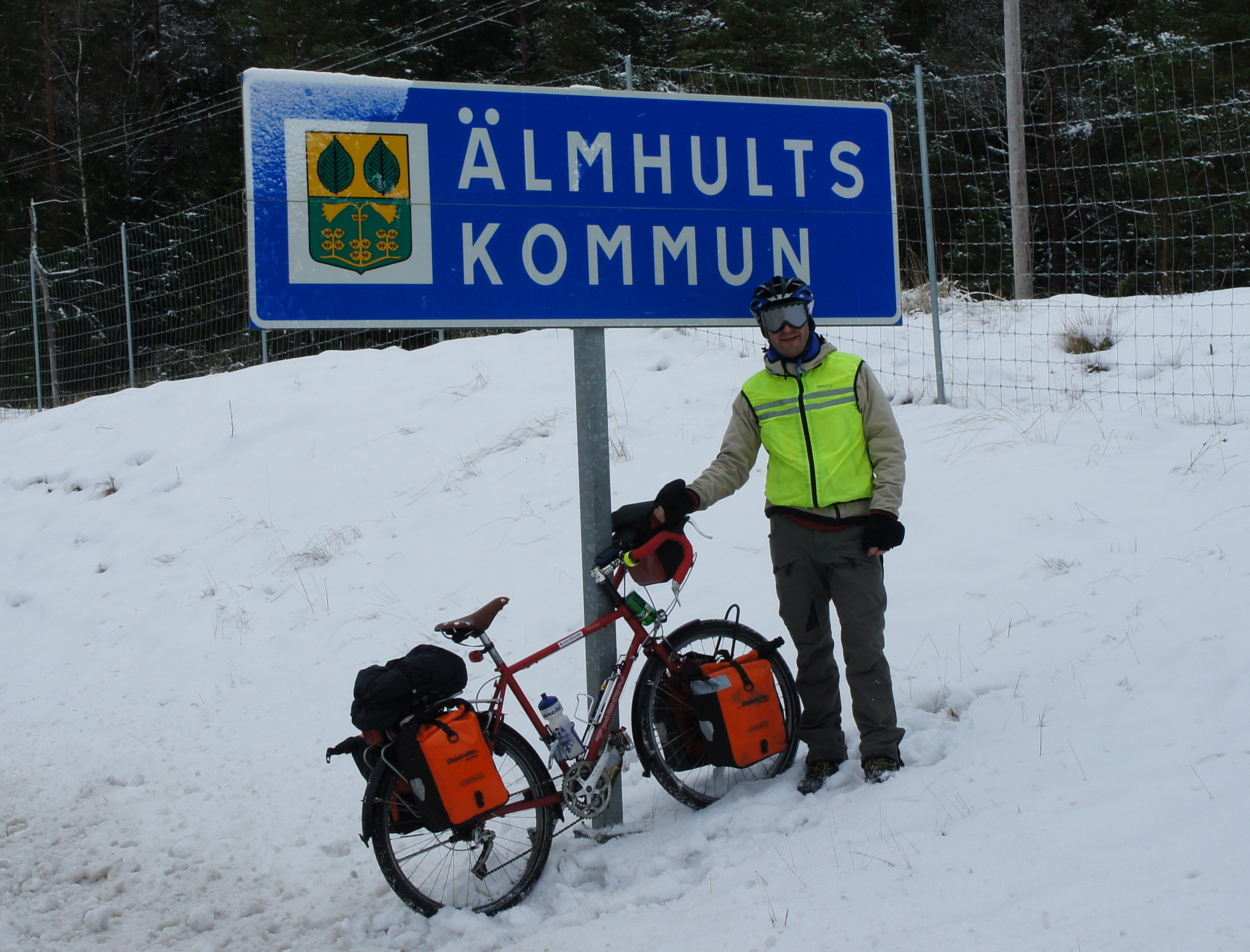 Finally arrived in Älmhult