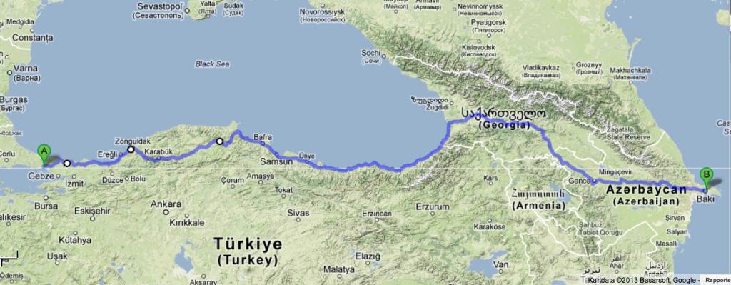 Istanbul - Baku