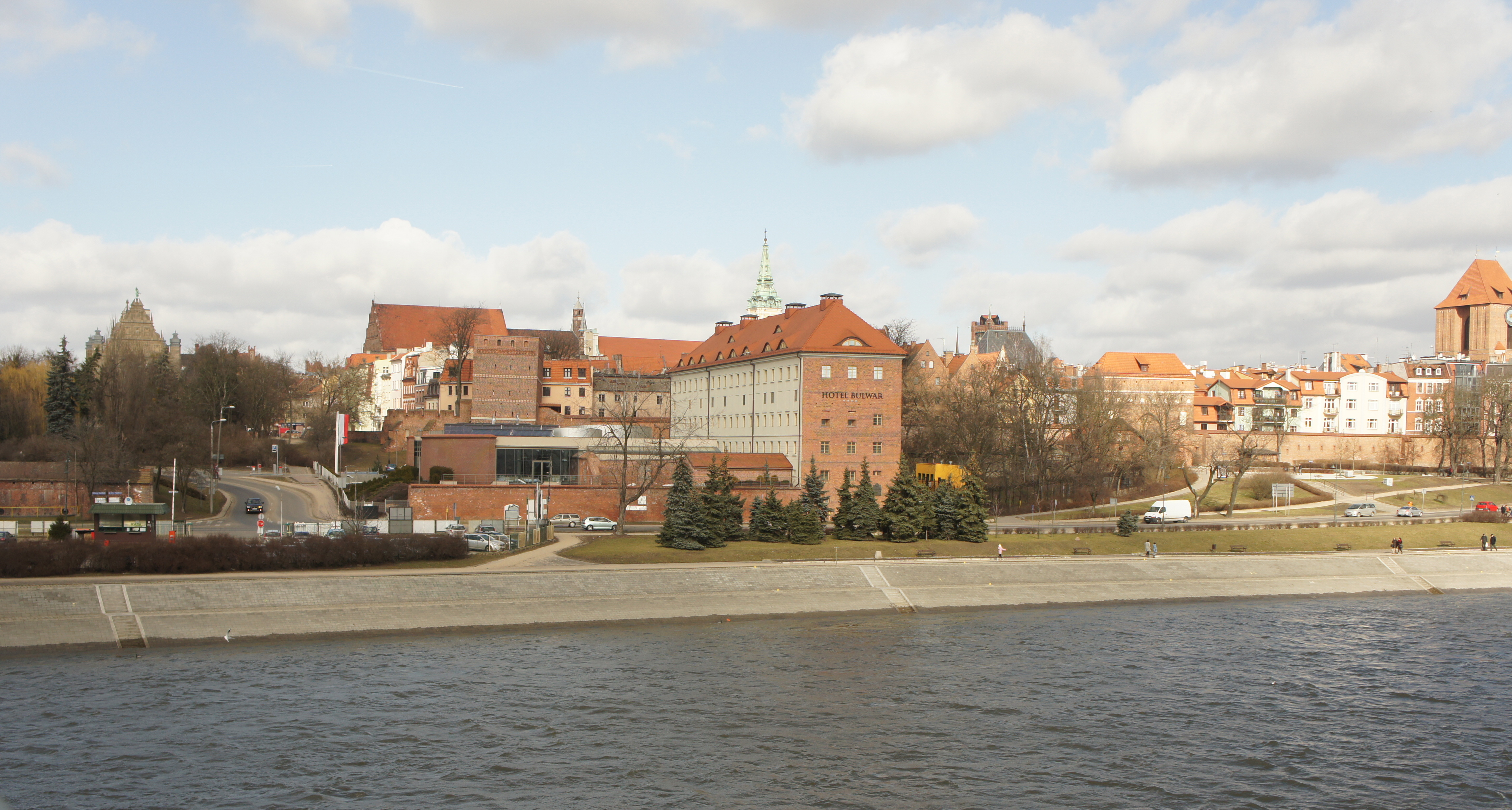 เมืองโทรุน (Torun) ถ่ายจากสะพาน