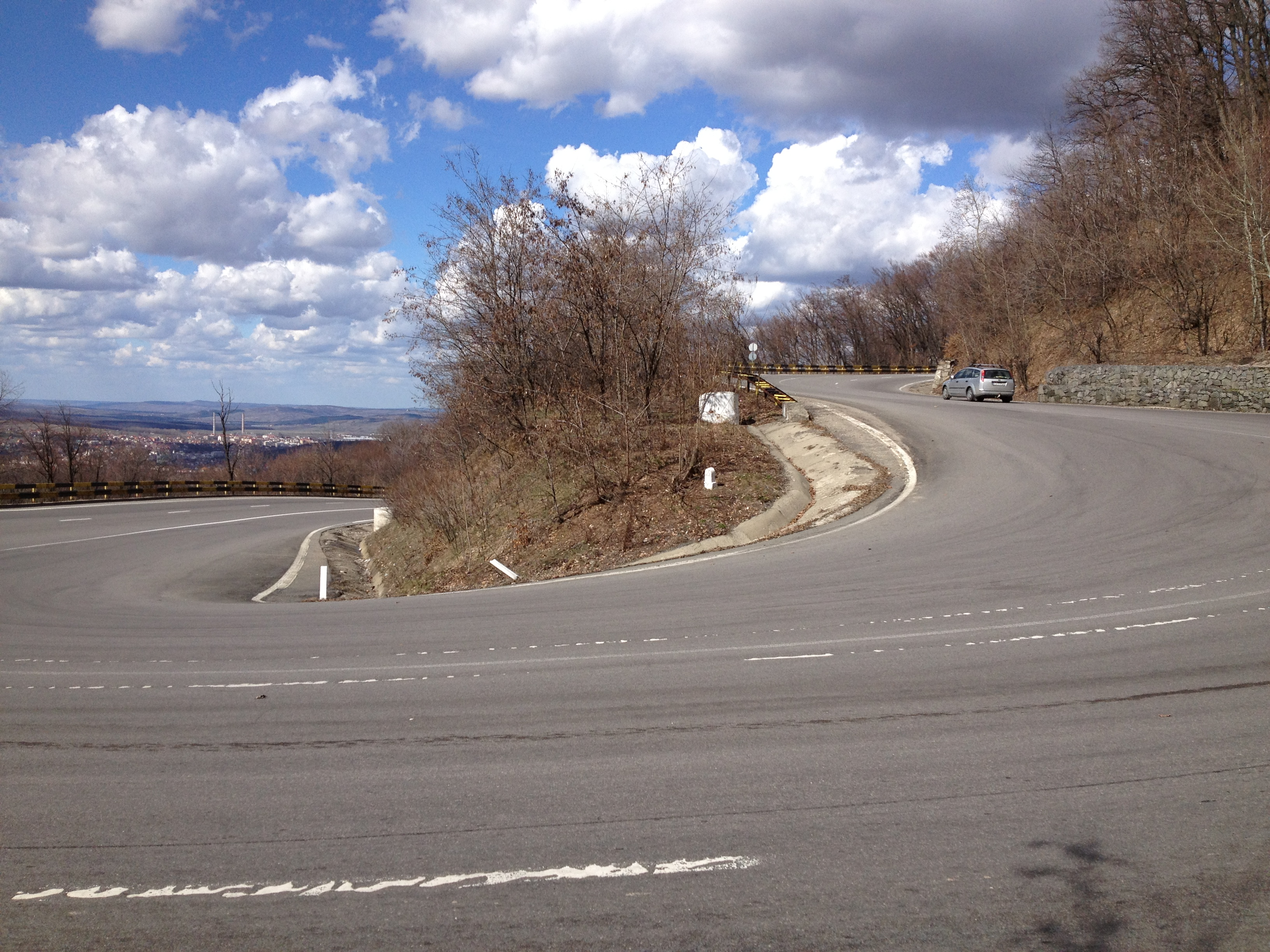 We passed a lot of switchbacks like this today
