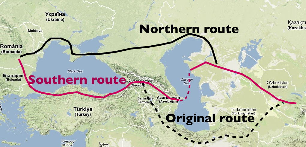Route alternatives