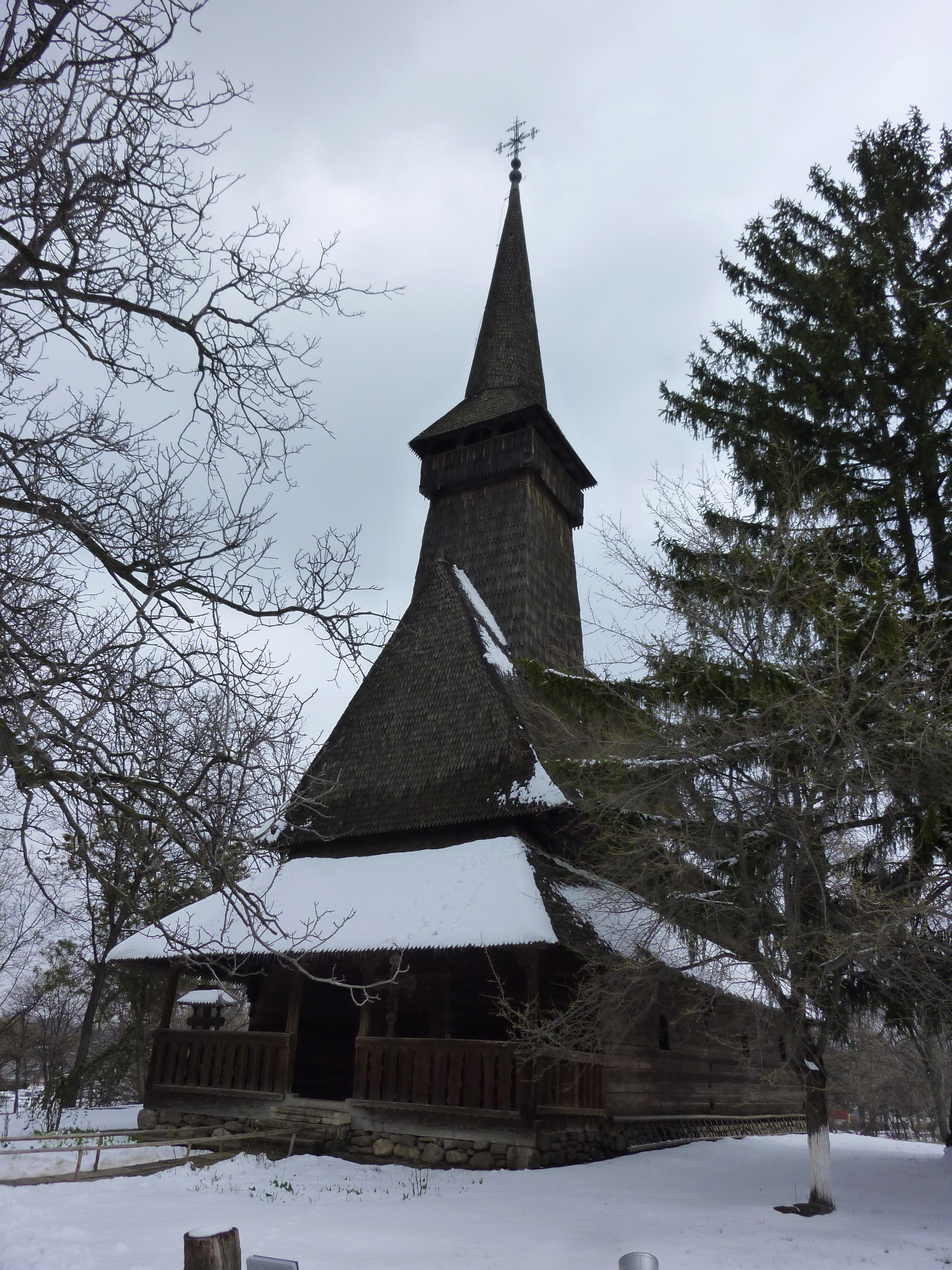 โบสถ์ในพิพิธภัณฑ์วิลล่าในบูคาเรสต์