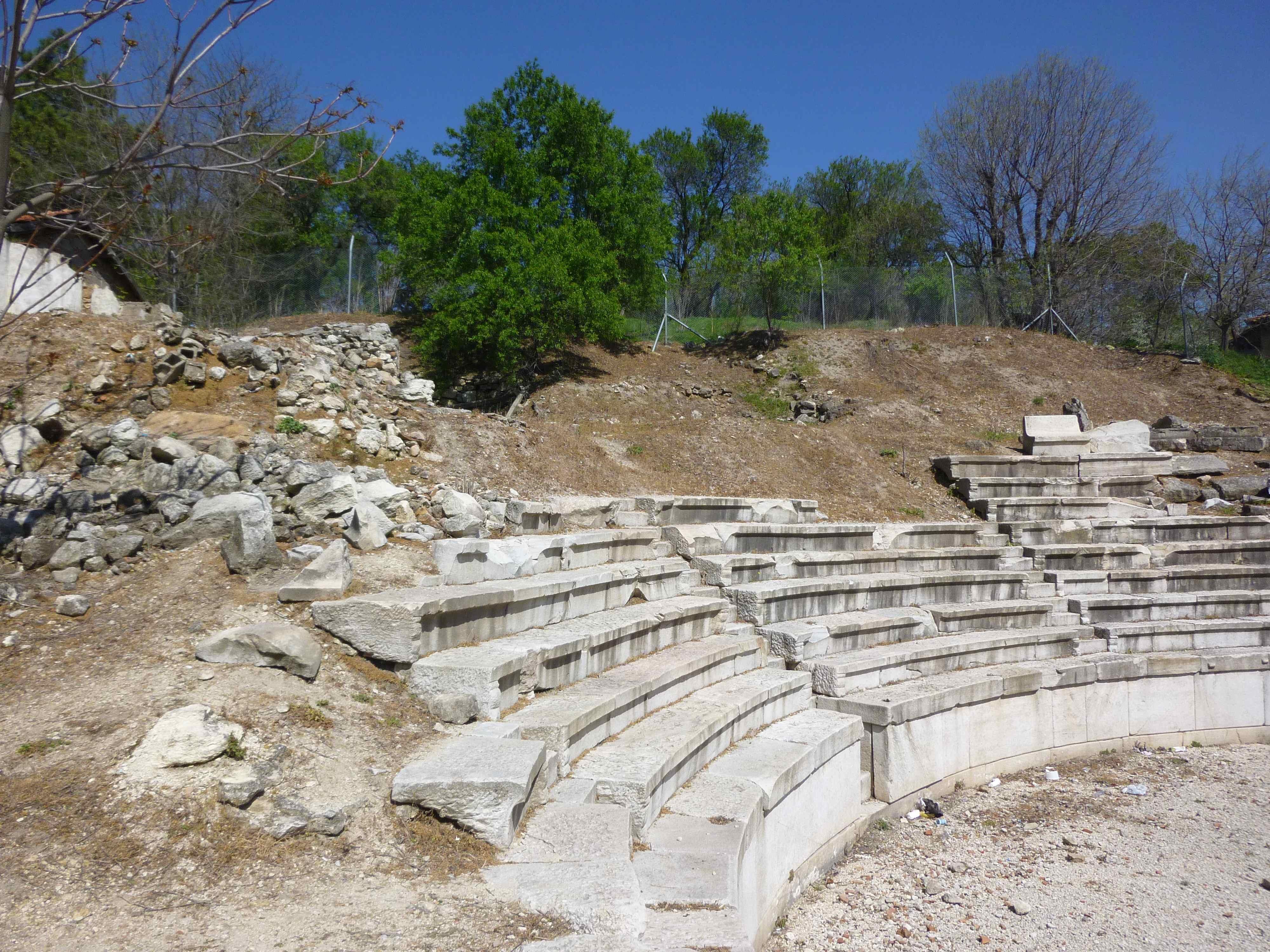 The small Roman amfiteater