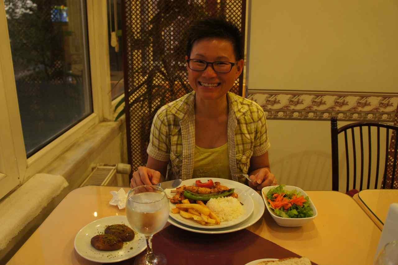 มื้อเย็นที่เราสามารถต่อให้รวมอยู่ในราคาห้อง ;-)
