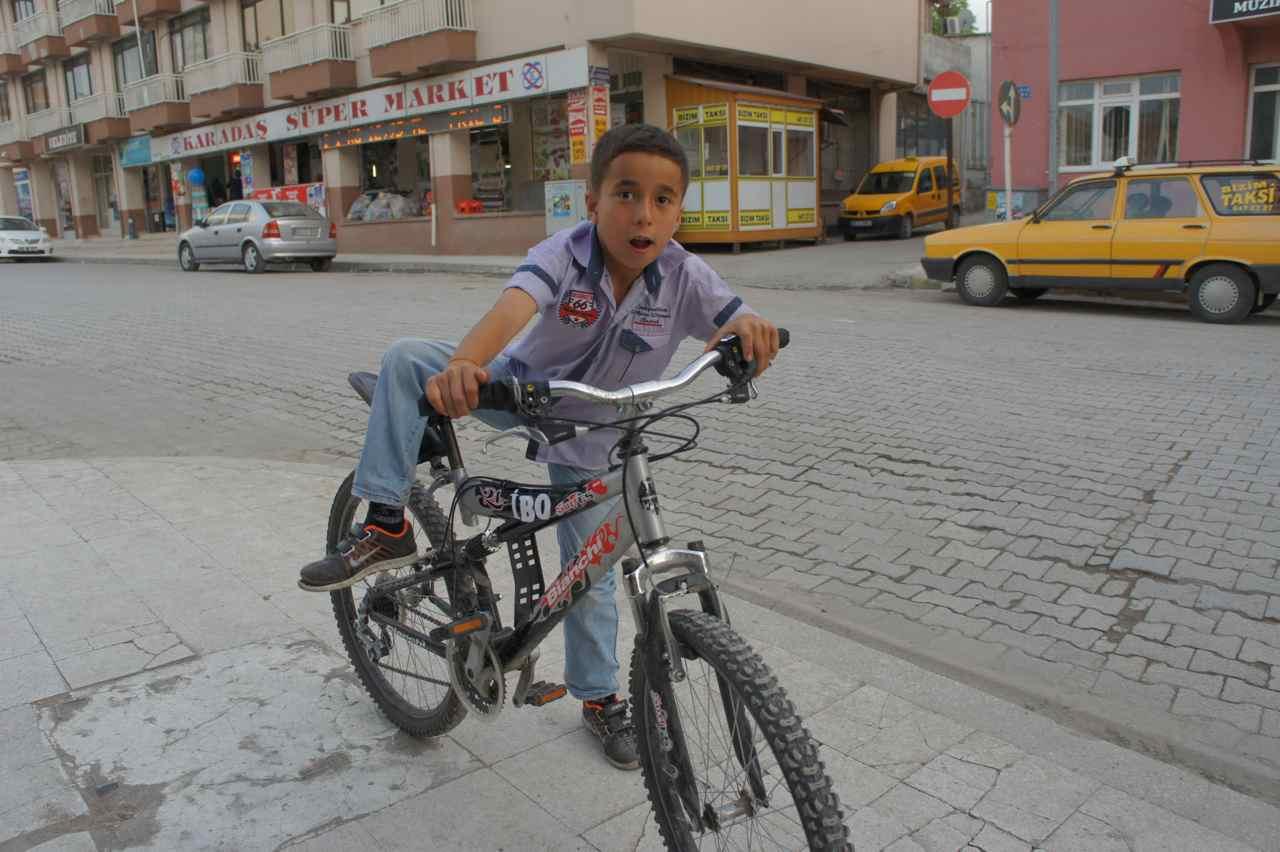 เด็กกับจักรยาน