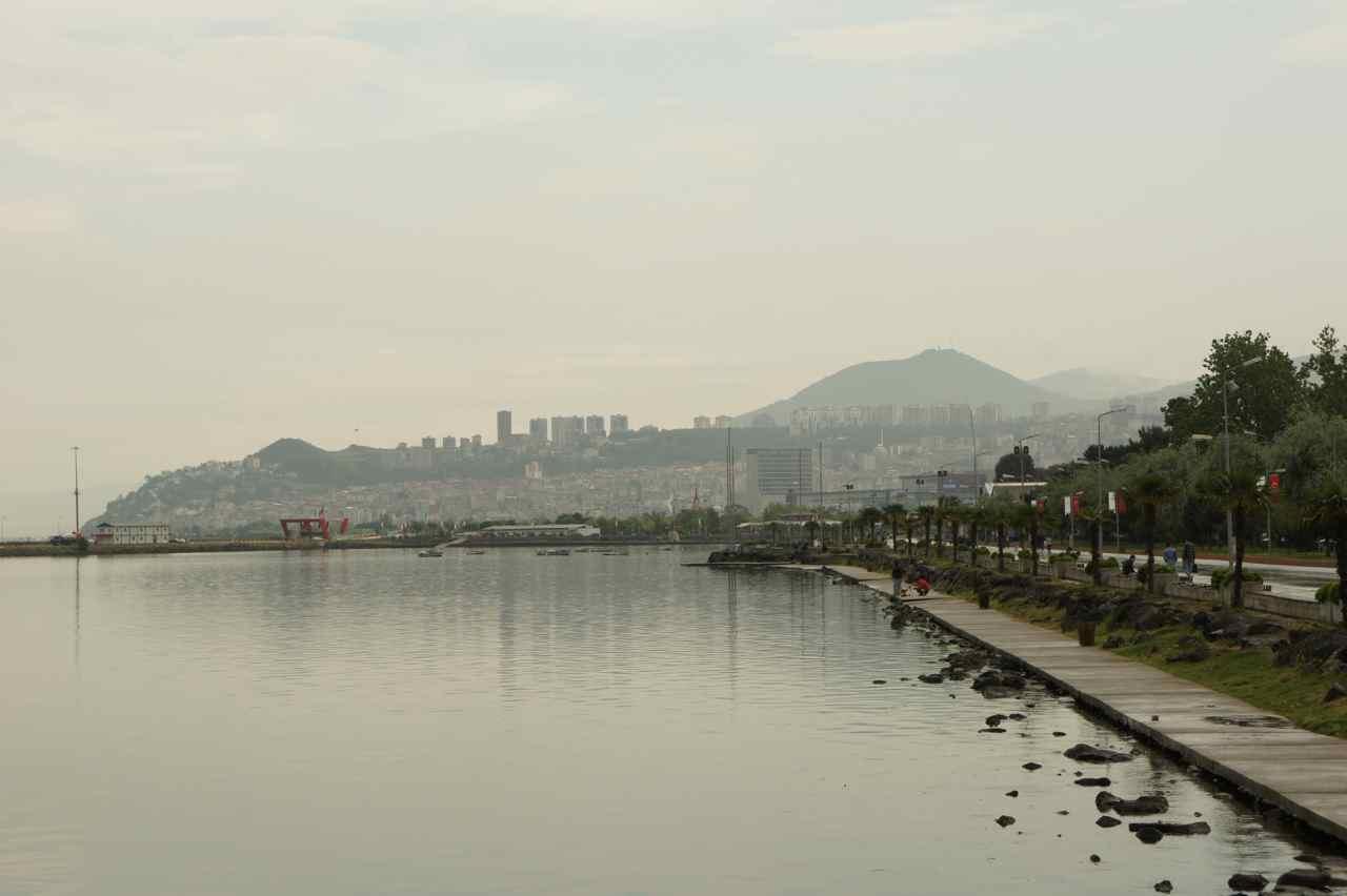 ภาพในเมืองซัมซุนริมทะเลดำ