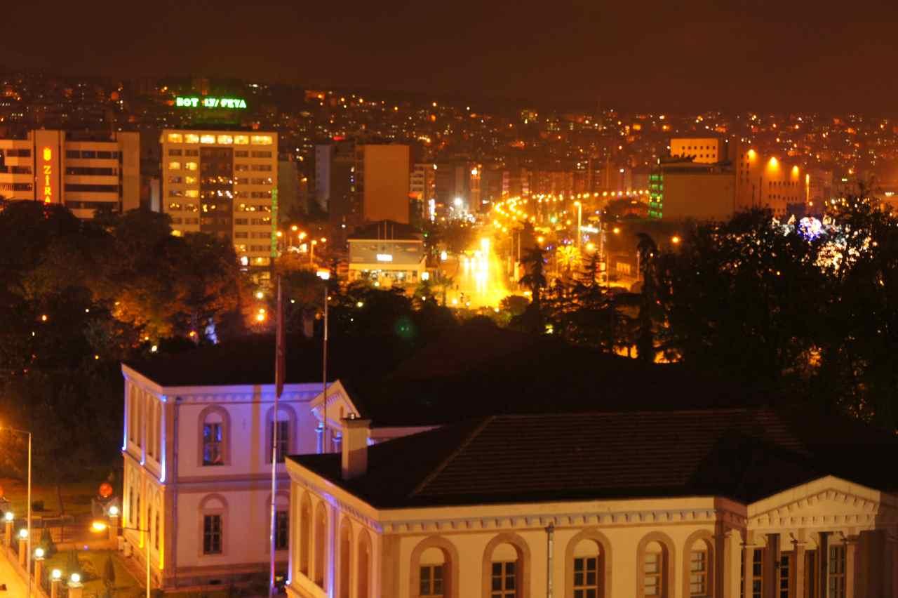Samsun by night