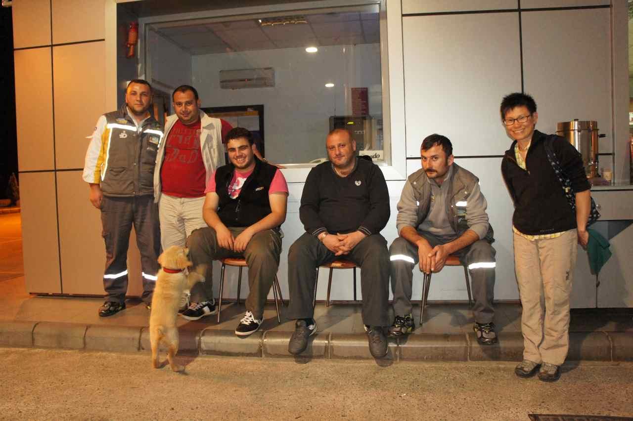 Gas station staff