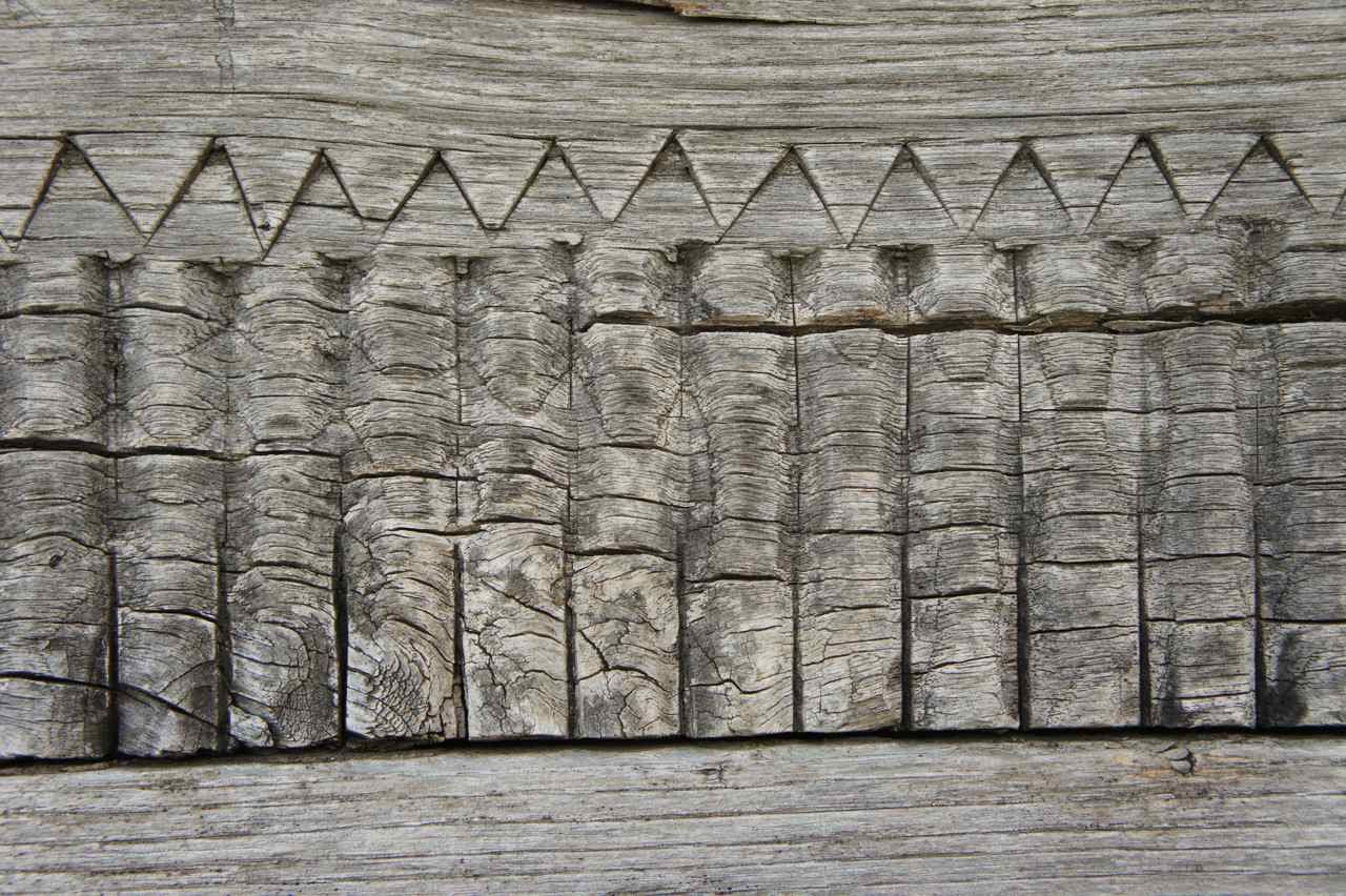 Detail from the corn barn