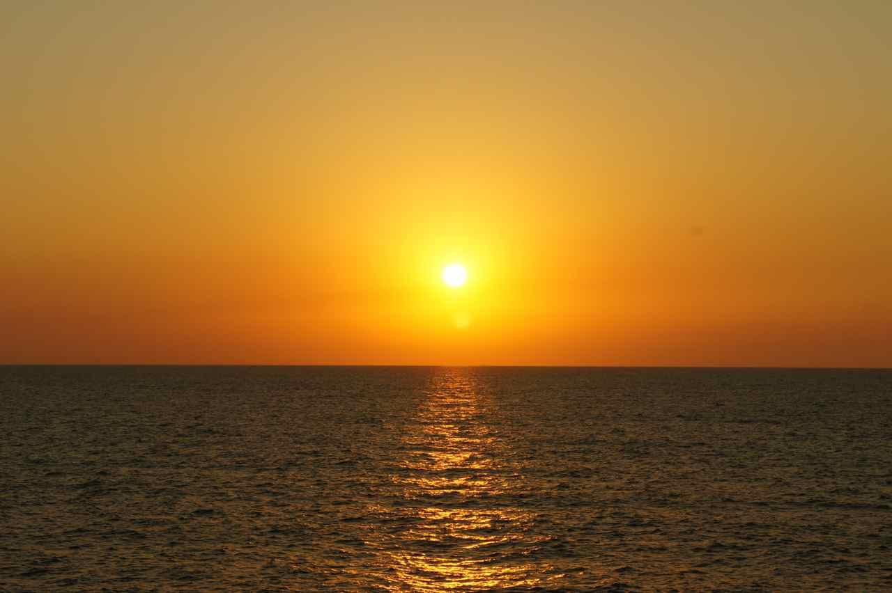 Caspian sunset