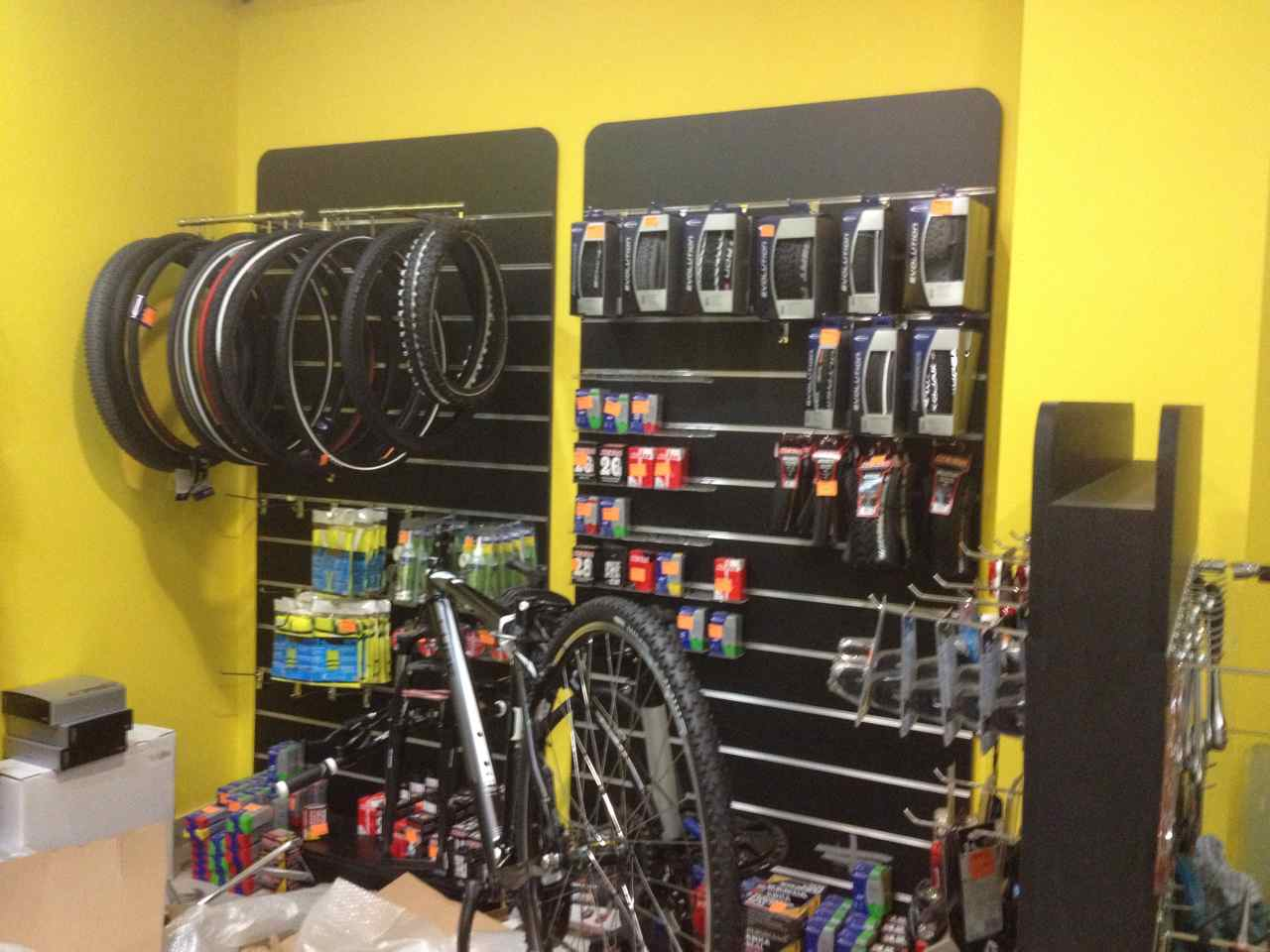 When cycle touring in far away countries it is a dream to visit a well stocked bike shop