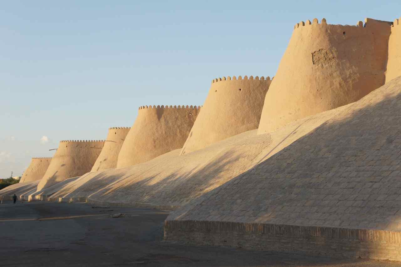 City wall around old Khiva