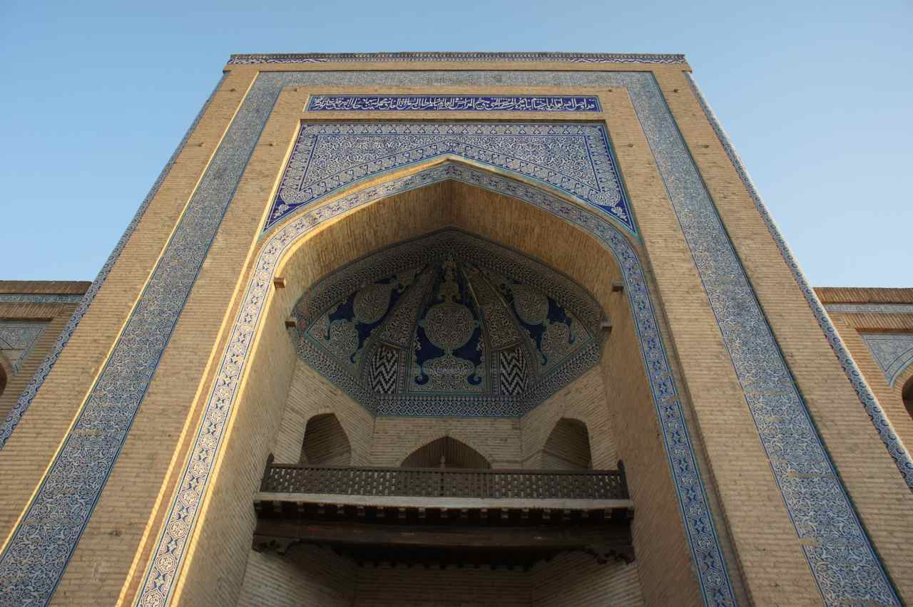 Building in old Khiva
