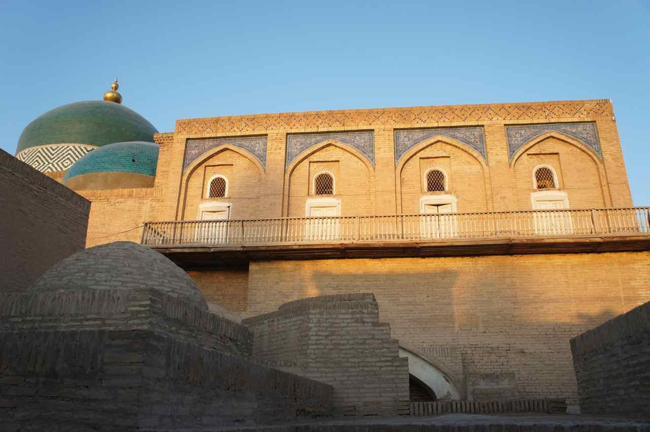 Inside old Khiva