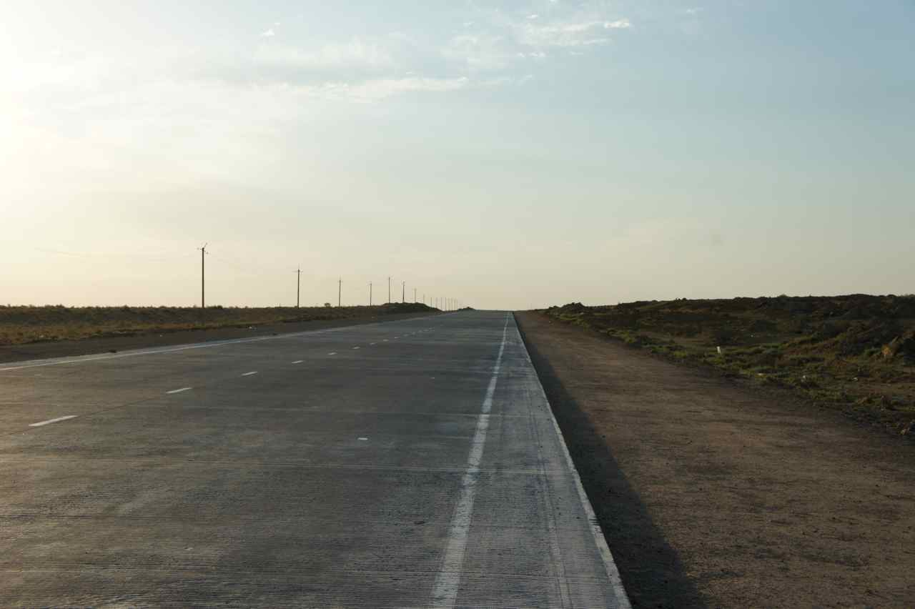 ถนนหนทางเริ่มดีขึ้น อีกหน่อยเดินทางสะดวกขึ้น