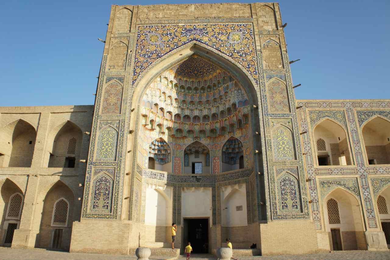 Portal in Bukhara.