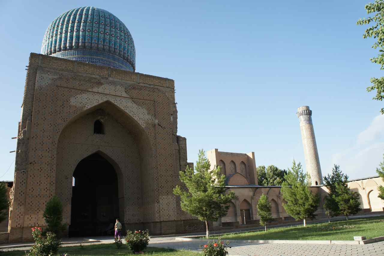 Portal to a mosque