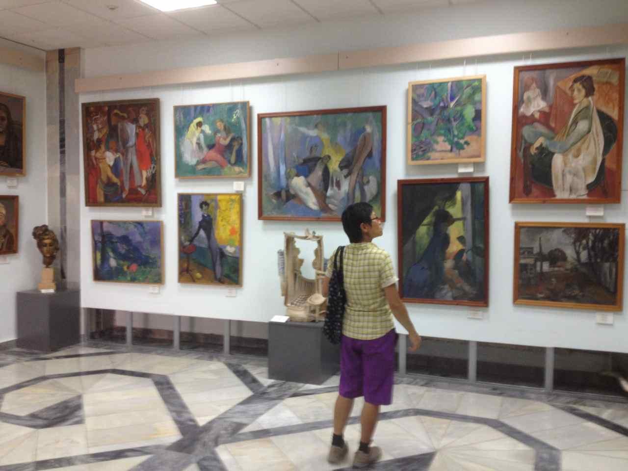 Enjoying soviet modern art in the midst of the desert