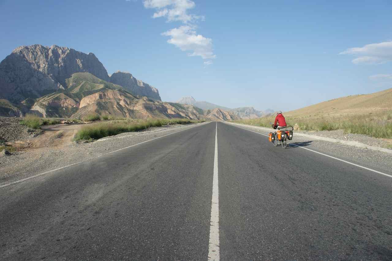Perfect road in wonderful surroundings
