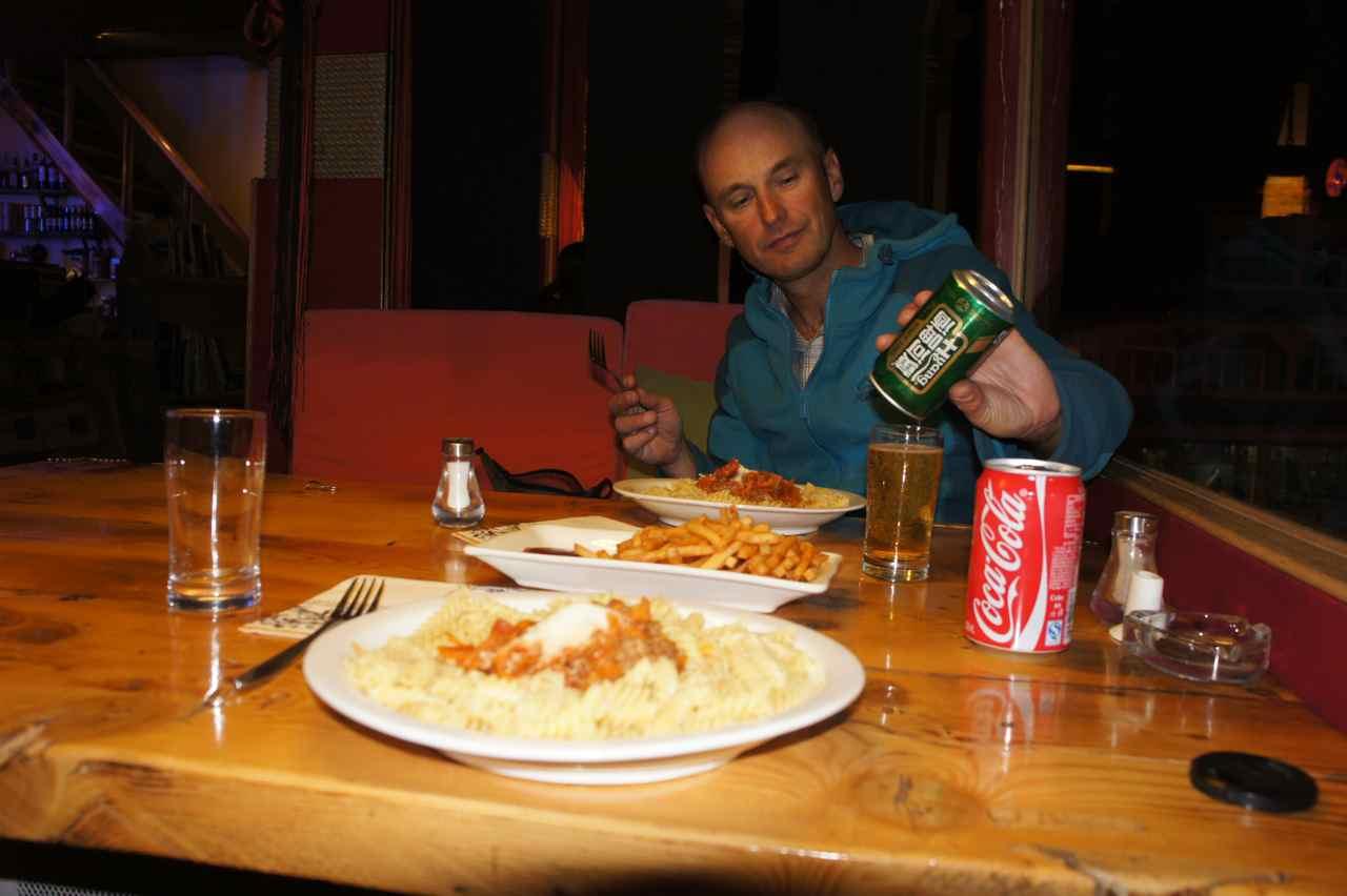 หลังจากท่ีกินอาหารจีนและมุสลิมมานาน ขอชิมสปาเก็ตตี้และเฟรนช์ฟรายด์ร้านนี้หน่อยละกัน