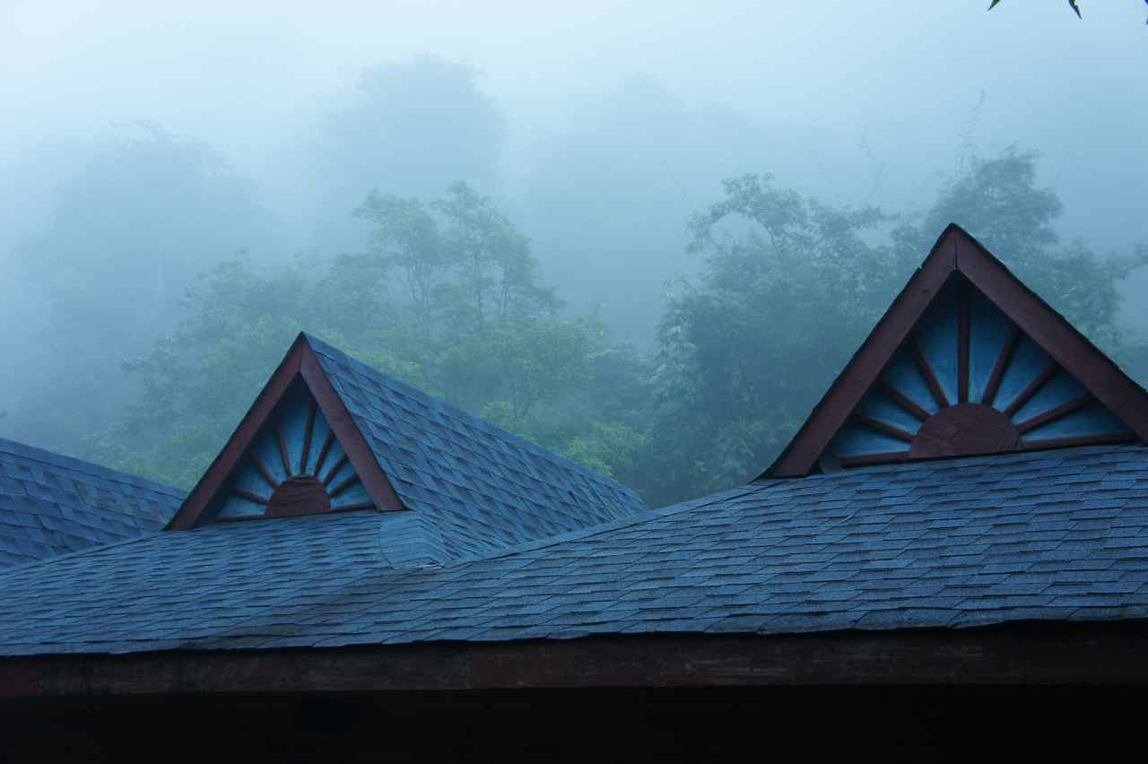 Misty morning in southern China